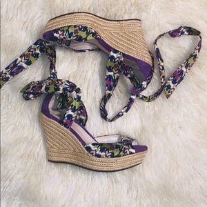 NWOB UGG Espadrille Wedge Sandals 10
